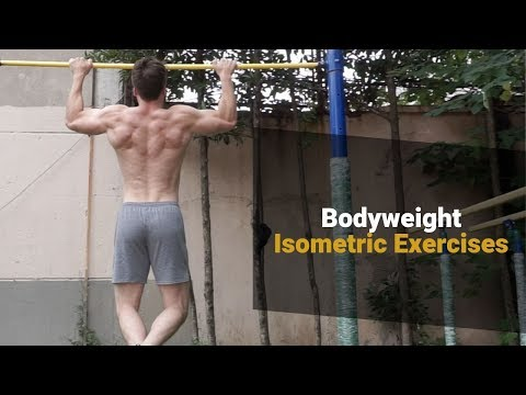 Isometric Exercises for Huge Strength Gains | Examples