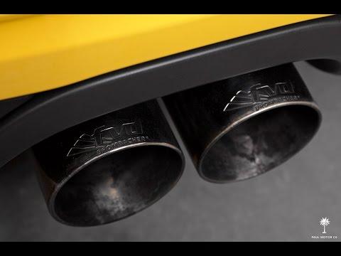 2014 Porsche Cayman S w/ FVD Brombacher Exhaust