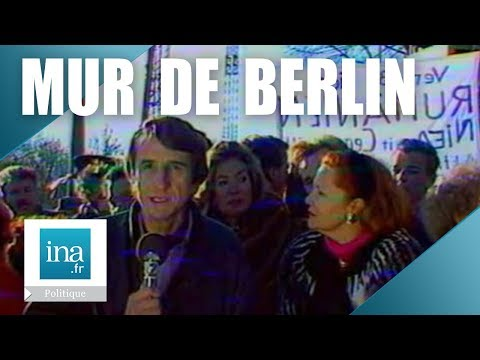 16 novembre 1989 : Porte de Brandebourg, le symbole de Berlin s'ouvrira | Archive INA