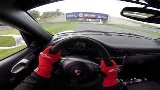 Porsche 997 GT3 | Driver POV | New Jersey Motorsports Park-Thunderbolt | PCA DE 10/3/14