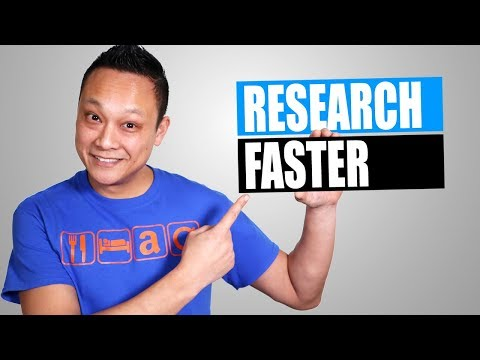 How to do Product Research Faster and More Efficiently in 2019 for Amazon FBA Product Research