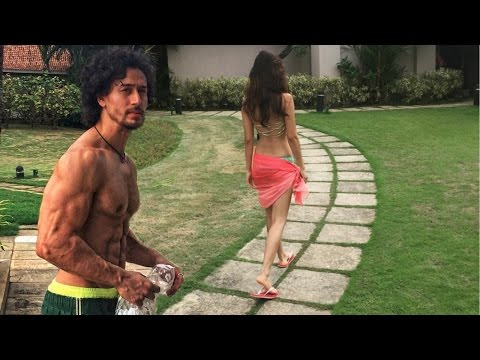 Tiger Shroff And Girlfriend Disha Patani...