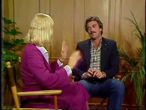 with Tom Selleck
