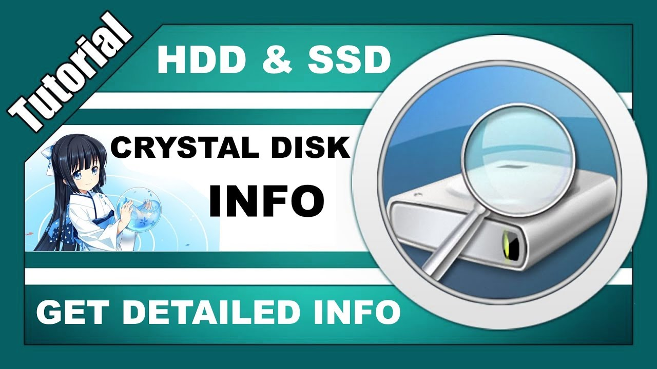 How to Use Crystal Disk Info - Get detailed information about your hard  drive & solid-state drive