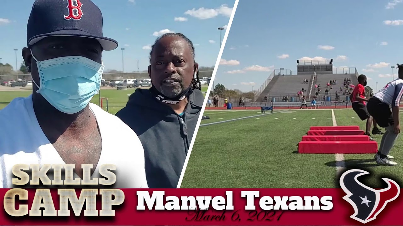 2021 Camp with The Manvel Texans