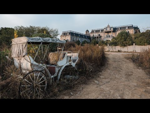 Abandoned Cinderella Millionaires Mansion With Large Indoor Swimming Pool (CHINA 中國)