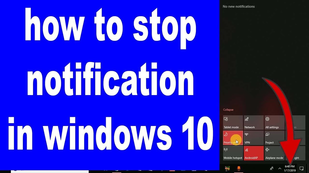 how do i turn off windows 10 pop up notifications
