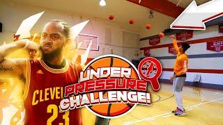 Who's More Clutch? Under Pressure Basketball Challenge! vs. BdotAdot5 & Jesser