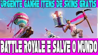 URGENT FREE ITEMS FOR FORTNITE BATTLE ROYALE AND SAVE THE WORLD