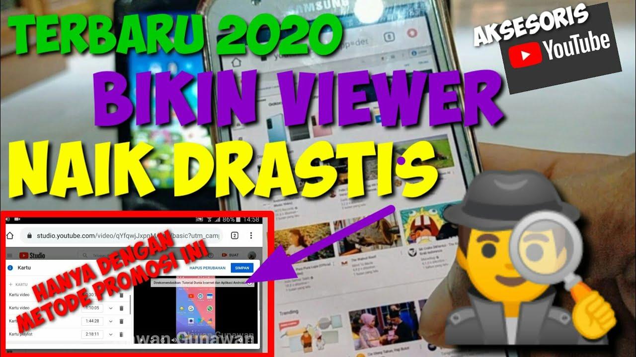 Trik Jitu Cara Mudah Tambah Viewers Hanya Dengan Metode Ini - Cara Meningkatkan Viewers Youtube 2020