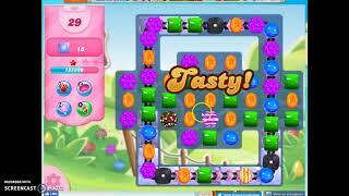 Candy Crush Level 605 Audio Talkthrough, 3 Stars 0 Boosters