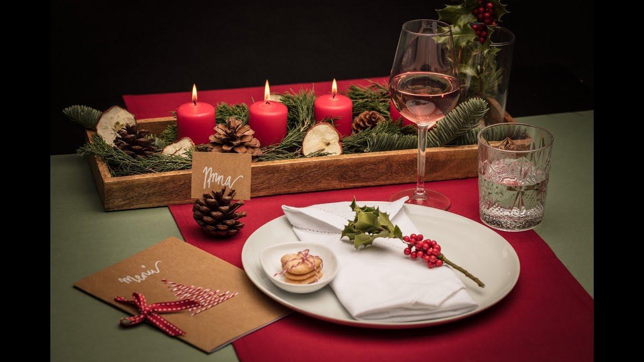 delightful Weihnachtstisch Festlich Decken Part - 15: Weihnachtstisch decken