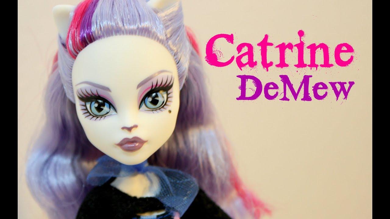 Catrine demew popular catrine demew doll buy cheap catrine demew doll - Catrine Demew Monster High Scaremester Doll Review Mh