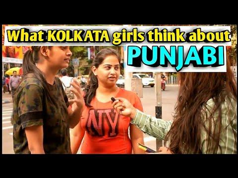 What KOLKATA girls think about PUNJAB|| PUNJABI PEOPLE ||Kolkata girls Open talk||jugadubongs