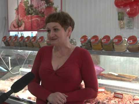Красный Сулин. Открытие нового магазина Мясной Бутик 01 03 16