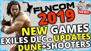 NO MORE XP CHEESE CONAN EXILES! DLC! NEW GAMES! THE FUTURE OF FUNCOM!