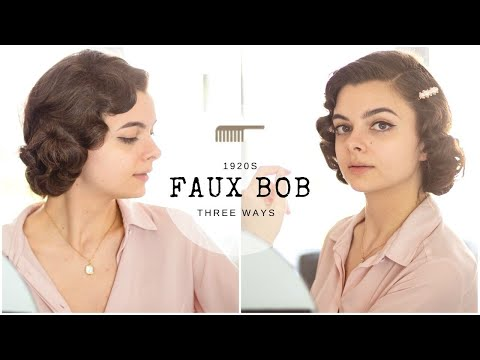 the-1920s-faux-bob- -three-ways