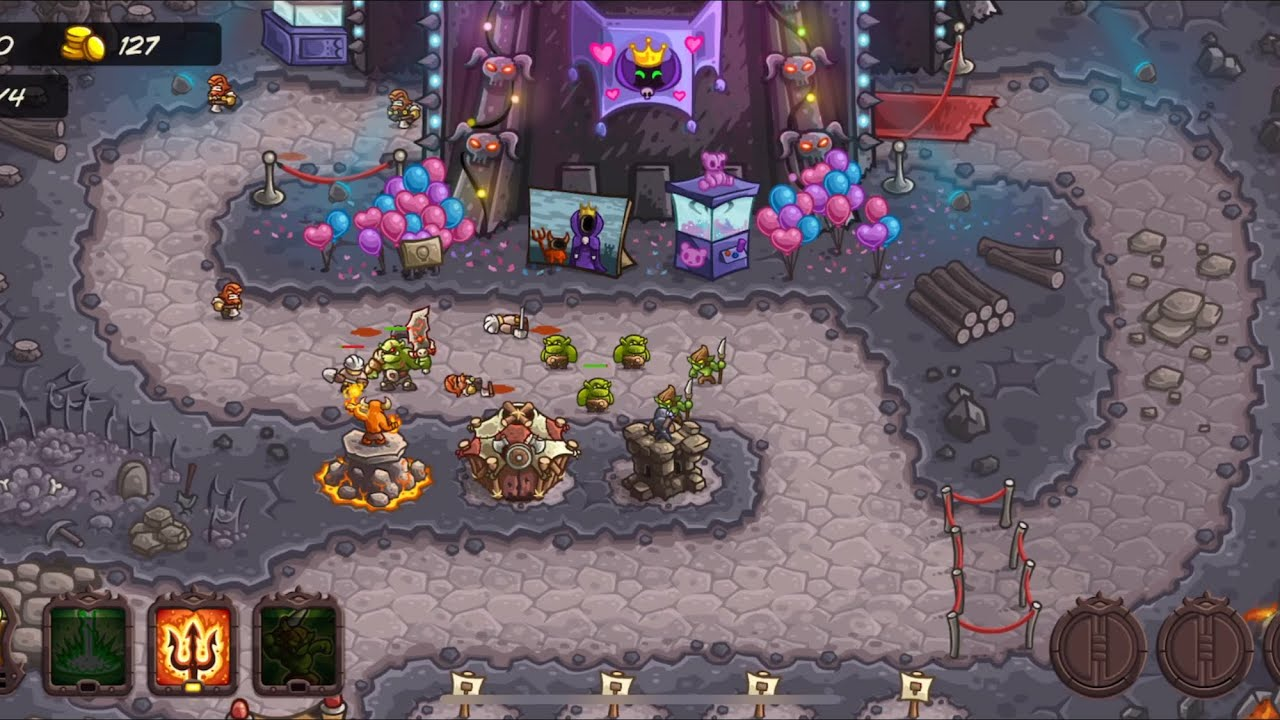 Kingdom Rush Vengeance: Level 1 - Vez'nan's Tower (Normal,3 Stars) IOS  Gameplay Walkthrough (HD)