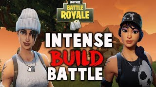 INTENSE Fortnite Build Battle | Both (POVS) | fortnite battle royale