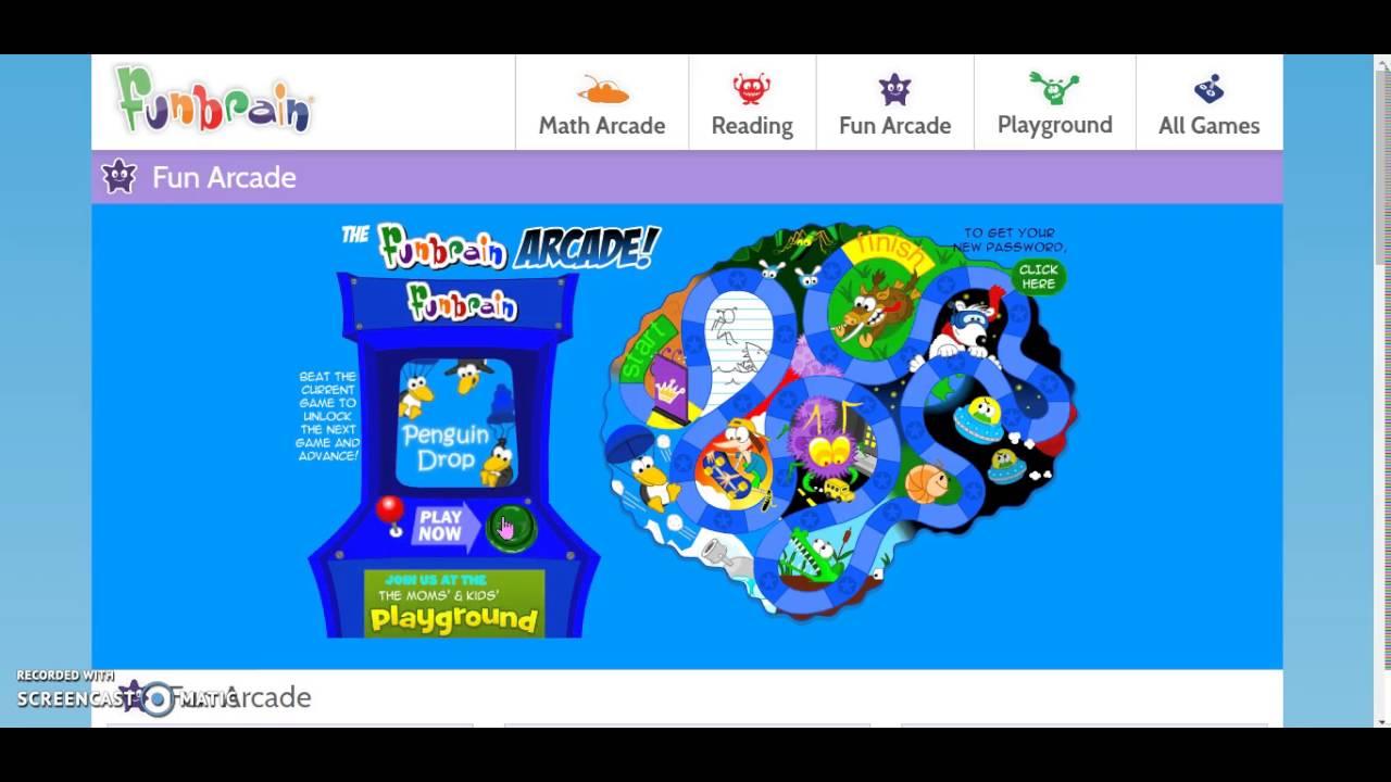 Funbrain Math Arcade Games | Games World