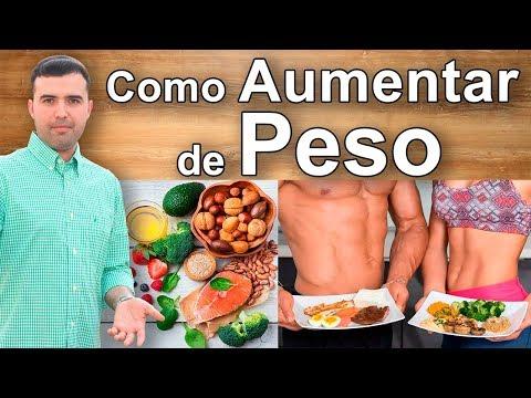 Como Aumentar de Peso y Subir Masa Muscular - Mejores Dietas y Suplementos Para Engordar
