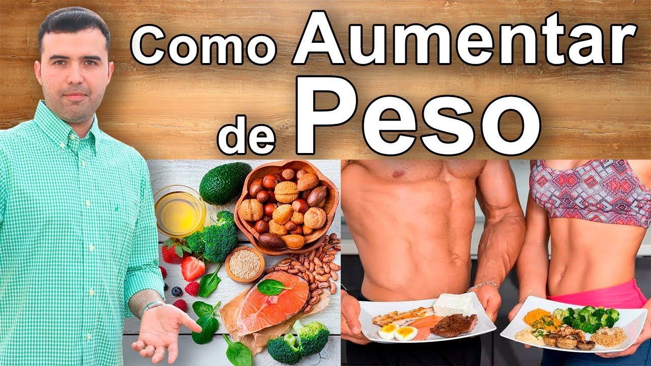 dieta rica en proteinas para ganar peso