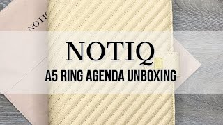 Notiq A5 Agenda Unboxing #notiq