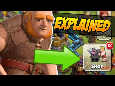 CLASH OF CLANS - 12 NEW ITEMS EXPLAINED! NEW Update! (unconfirmed)