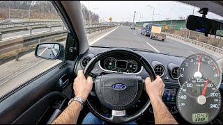 2005 Ford Fiesta ST (2.0 I 150hp) | POV Test Drive #719 Joe Black
