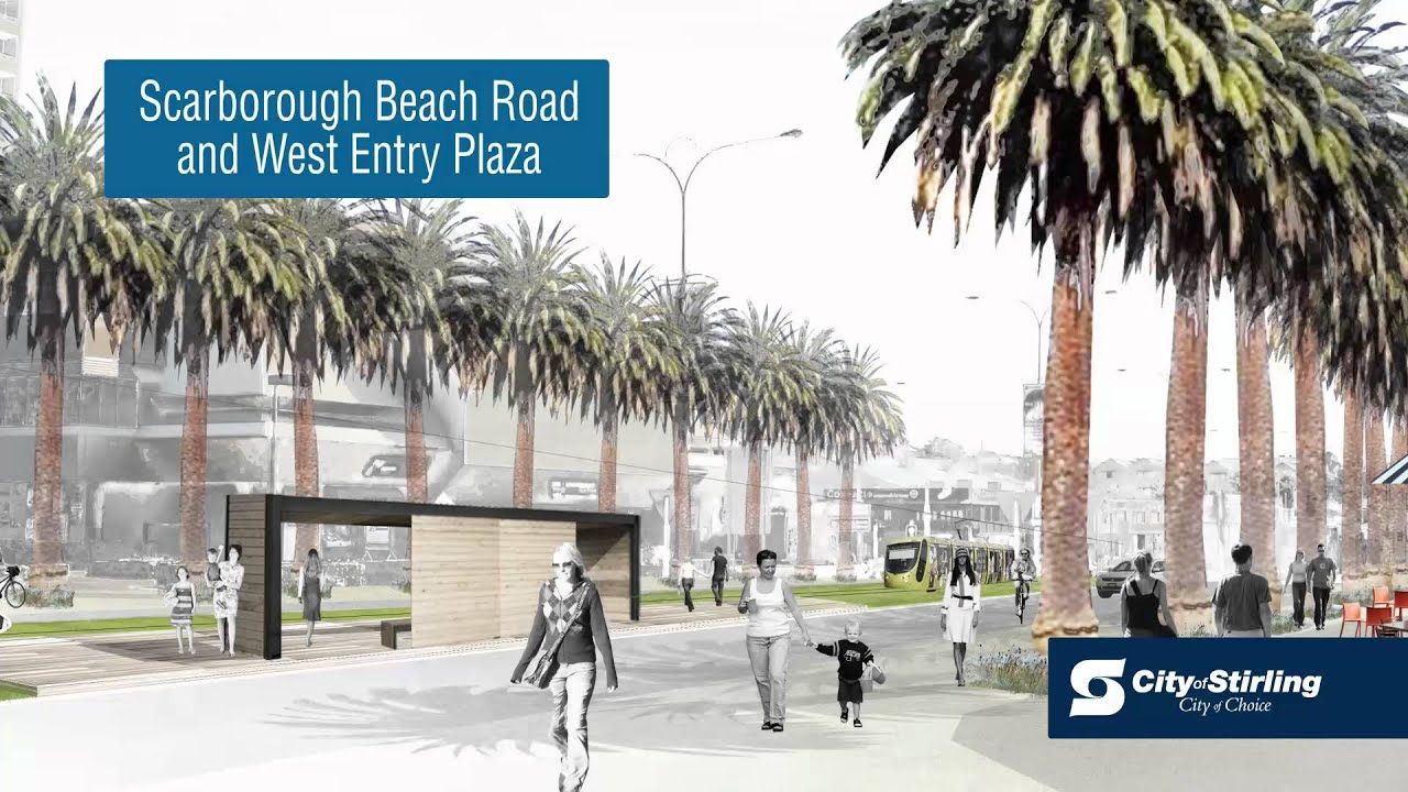 Scarborough beach urban design master plan youtube Urban design vs urban planning