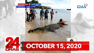 24 Oras Express: October 15, 2020 [HD]