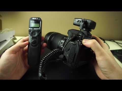 VILTROX JY-710 обзор. Внешний беспроводной пульт управления Canon 80D для таймлапсов/серийной съемки
