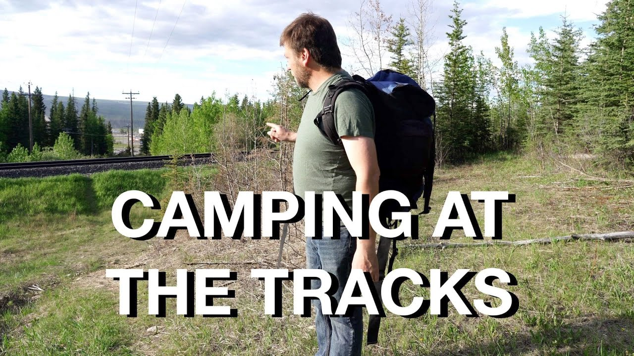 Camping By Main Rail Line