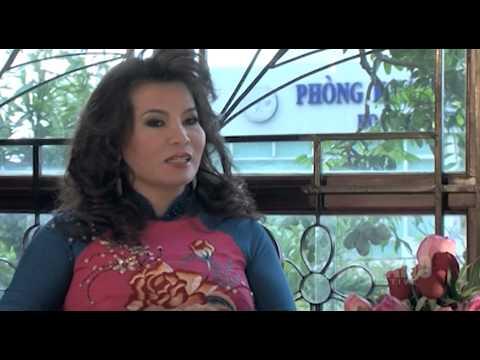 VTV6 - Tra Chanh - Hoa hau Quy ba Kim Hong - BST Ao dai