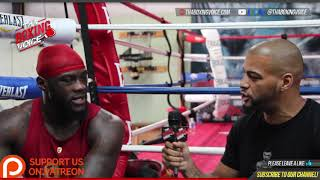 Deontay Wilder Breaks Down Why Anthony Joshua vs. Deontay Wilder Happens in 2018