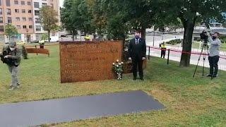 Homenaje a los fallecidos por Coronavirus en Asturias