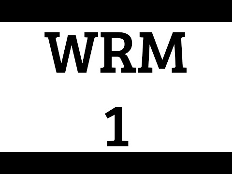 WRM Episode 1 - Genetic Engineering