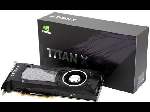 Nvidia GTX Titan XP Unboxing/Review