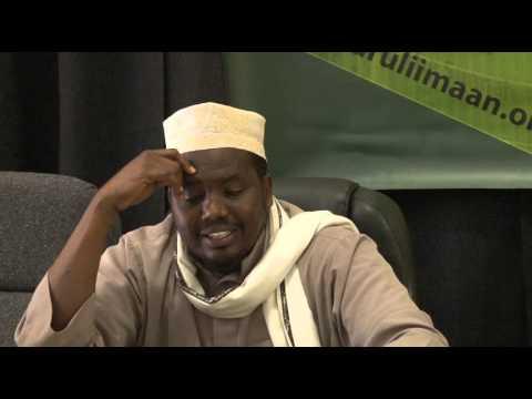 Muxaadaro Cilmiga Sh Ahmed Suufi - YouTube