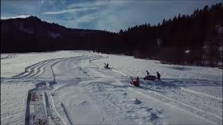 HUBERTUS Alpin Lodge & SPA - Loipe einschneien