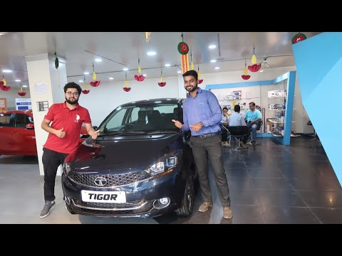 New Tata Tigor With New Egyptian Blue Colour | Tata Tigor Features | Tata Tigor New Stereo