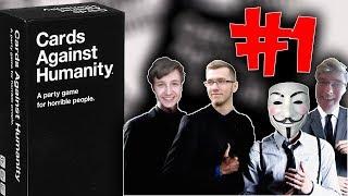 Karcioszki Youtuberii! Cards Against Humanity #1 (z: Conquer, Morvanek, Amongo)