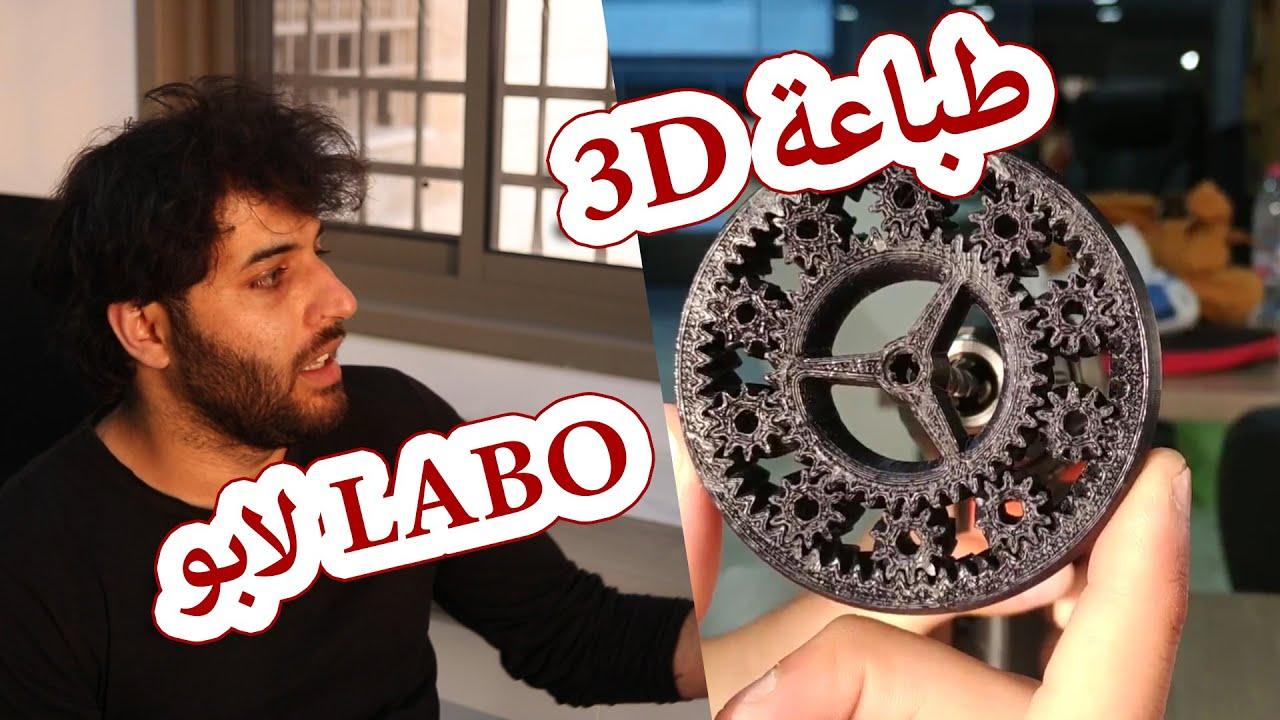 العمل الحر ومساحات العمل المشتركة والطباعة ثلاثية الابعاد في لابوFreelancer  and 3d printing