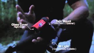 panasonic wearable camera hx a1   0 lux night mode   at rail corridor