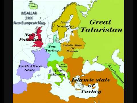 karta evrope 2030 Europe Map 2100   YouTube karta evrope 2030