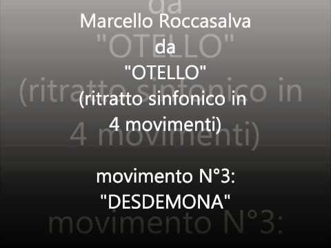 MRoc music:Desdemona, ritratto sinfonico