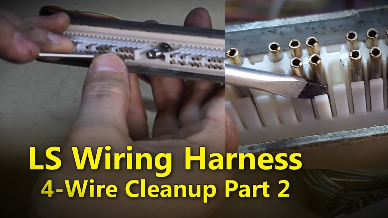 medium resolution of ls wiring harness part 2 project rowdy ep014