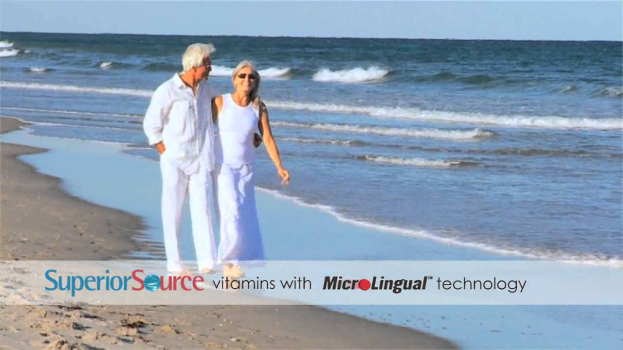Superior Source MicroLingual Vitamins - B12 Commercial # 4