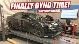 Download Our Newly LSA Supercharged CTS-V1 Hits the Dyno! HOW MUCH POWWWAA!? (Pump Gas Only) Mp3 and Videos