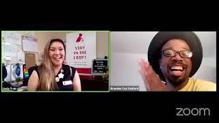 "Healthy Mothers Healthy Babies ""Closing The Gap Video"" Interview w/ Andy Feds, an HIV+ born comedian"